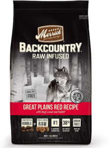 Merrick Backcountry raw infused great plains red recipe dry dog food